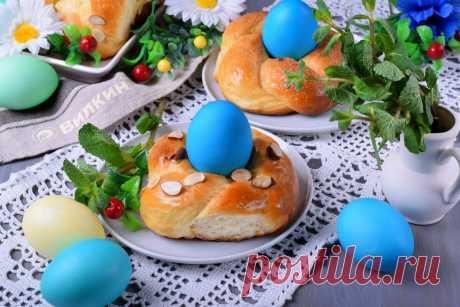 Сдобные булочки на Пасху (такую выпечку подают в Италии, Греции и не только)   Вилкин 👩🍳: рецепты и лайфхаки   Яндекс Дзен