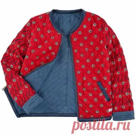 Выкройка детской куртки-ветровки на возраст от 1 года до 14 (Шитье и крой) – Журнал Вдохновение Рукодельницы