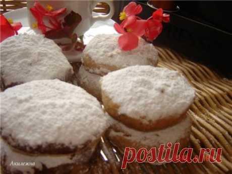 «Польворонес»-Испанская Рождественская выпечка : Выпечка сладкая