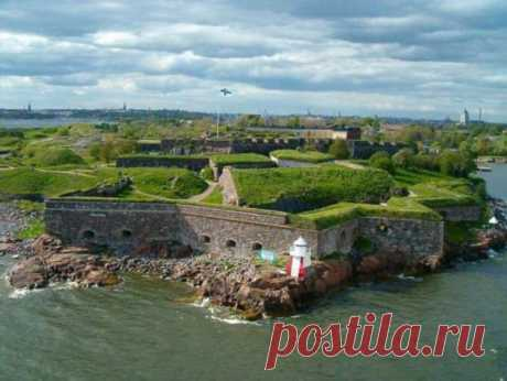 Крепость Суоменлинна в Финляндии (10 фото) . Тут забавно !!!