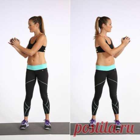 Три упражнения, которые быстро избавят от жира на животе, талии и боках. Видимый результат через 14 дней.