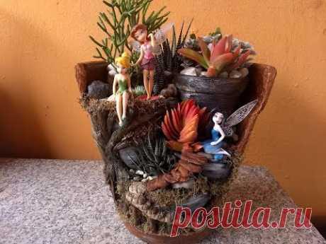 DIY Jardim Encantado de Fadas