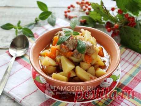 Жаркое из баранины с картофелем — рецепт с фото Изумительное блюдо для сытного обеда!