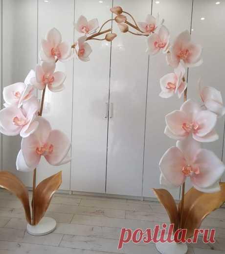 """""""Дорога цветов"""" для мастеров. Изолон. Фоамиран.   #вдохновение@moya_doroga_cvetov #фотозона@moya_doroga_cvetov"""