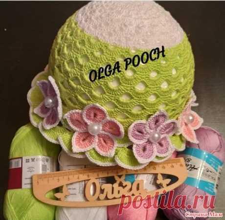 ФотоМК по вязанию цветочков - Вязание для детей - Страна Мам