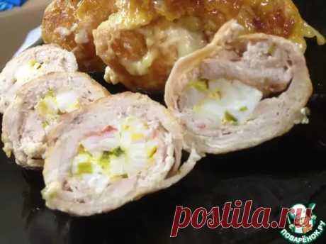 Мясные рулетики с невероятно вкусной начинкой под соусом бешамель! - Ваши любимые рецепты - медиаплатформа МирТесен