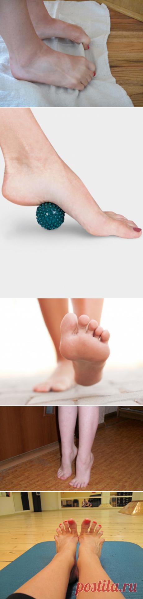 Упражнение для стоп ног. Комплексы для лечения деформированных стоп. Лечение плоскостопия методом кинезитерапии