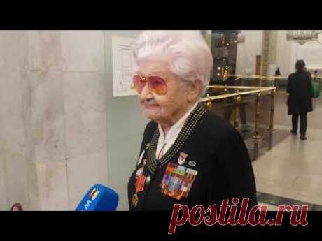 Музей Победы. Интервью с ветераном Великой Отечественной войны