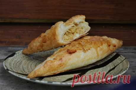 Слоеные пирожки с капустой: pratina — LiveJournal