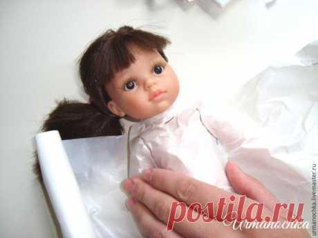Подробный мастер-класс: шьем очаровательное платье для куклы: публикации и мастер-классы – Ярмарка Мастеров
