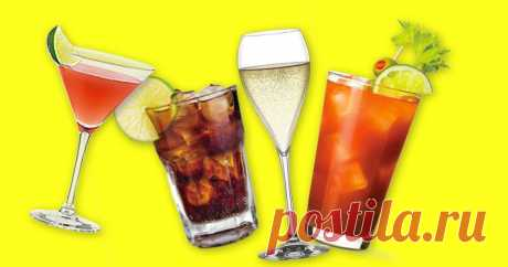5 алкогольных коктейлей, в которых меньше всего калорий Бухай – худей.