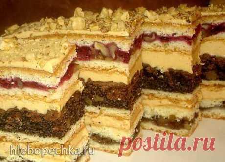 "Торт-Пляцок ""Люся"" (мастер-класс) - ХЛЕБОПЕЧКА.РУ - рецепты, отзывы, инструкции"