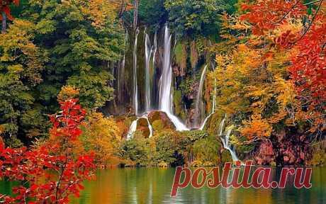 Парк Плитвицкие озера: Парк Плитвицкие озера расположен в центральной области Хорватии в горах, поэтому в парке преобладает горная природа. Парк считается одним из самых красивых в мире благодаря чудесному переплетению озер, водопадов и пещер в единую систему.В состав парка входит 16 крупных озер расположенных каскадом, 140 водопадов, 20 пещер а также буковый и хвойный лес, который сохранился с первобытных времен. В парке обитает множество редких животных...