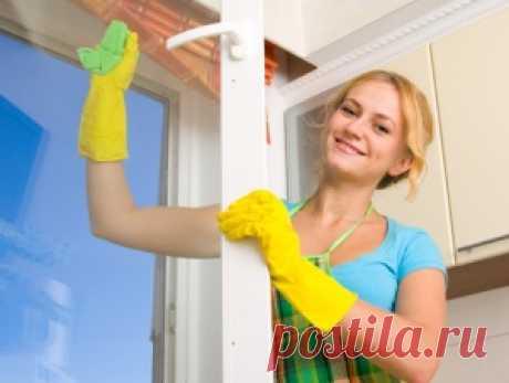 Окна без разводов. Как сделать средство для мытья окон в домашних условиях