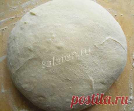 Дрожжевое тесто для жареных пирожков-рецепт с фото |
