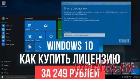 Как купить лицензию на Windows 10 за 249 рублей? — Личный сайт Евгения Попова