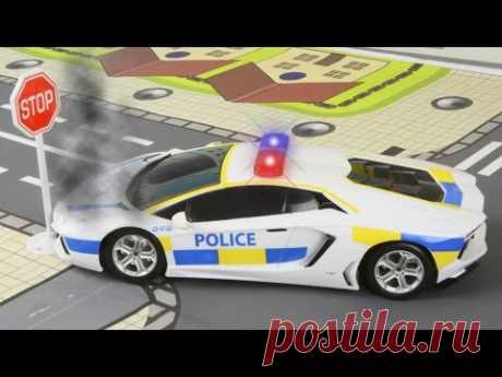 Мультики про машинки Полицейская Машина Сборник мультиков Пожарная машинка Видео для детей - YouTube