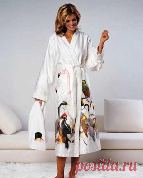 Шьем домашний халат. Выкройка и описание