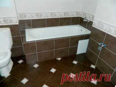 Укладка плитки в ванной своими руками : фото и видео | Все о ремонте