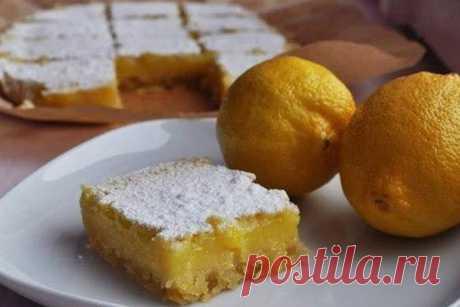 Лимонные пирожные — Женская страничка