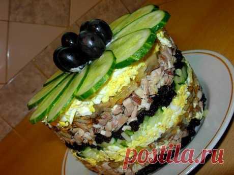 Салат «Меркурий» с черносливом — Sloosh – кулинарные рецепты