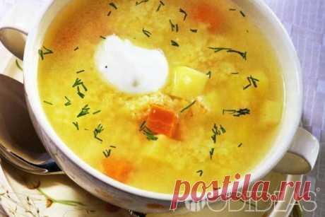 Куриный суп с пшеном - рецепт приготовления с фото