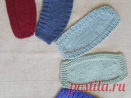 [Вязание] 5 способов вязания укороченными рядами. Мастер-классы