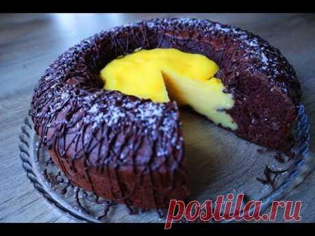 "Пирог-торт ""Вулкан"". Невероятно вкусно! — Кулинарная книга - рецепты с фото"