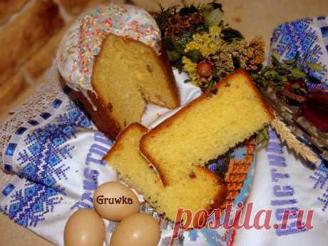 Паска, яку треба залишити на ніч / Домашній хліб своїми руками / Кукорама — смачні рецепти!