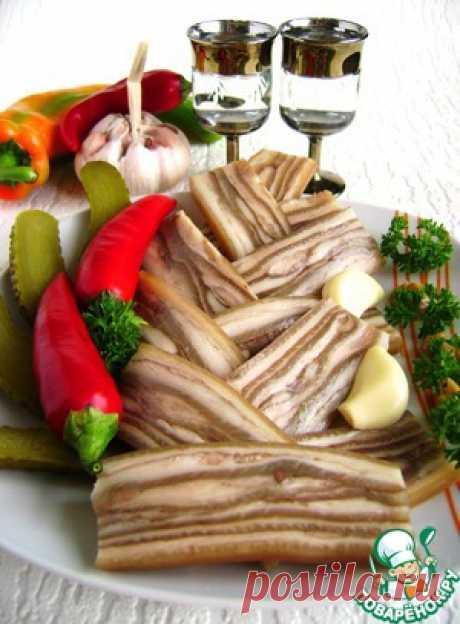 Деликатес из свиной шкурки «Забайкальский» - кулинарный рецепт
