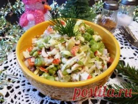 Блюда из крабовых палочек — 50 рецептов с фото. Что приготовить из крабовых палочек?