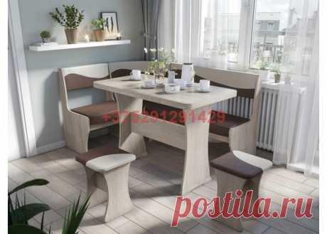 Кухонный уголок Титул-1 (дуб сонома/дамла светлая, дамла темная): купить в Минске недорого, низкие цены, скидки, рассрочка