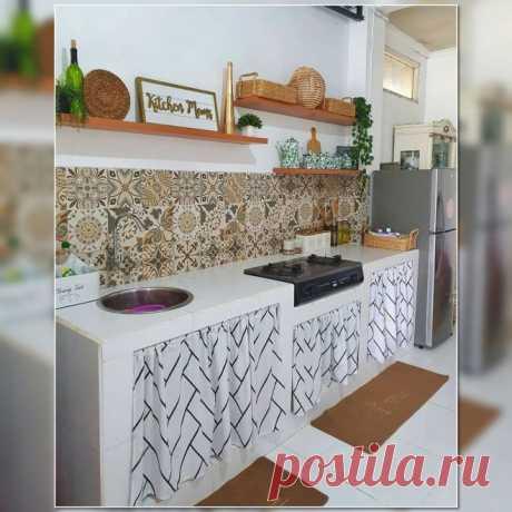 12 приемов, как обновить старый кухонный гарнитур