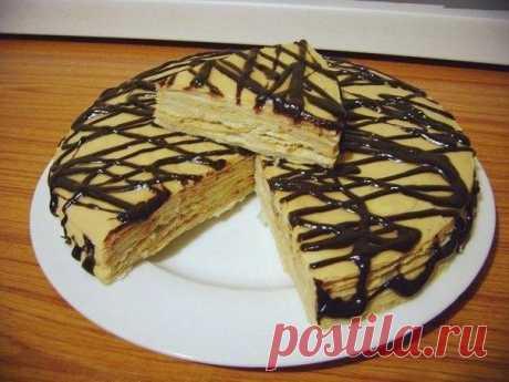 Как приготовить самый простой торт  - рецепт, ингридиенты и фотографии