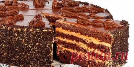 Очень Нежный и вкусный шоколадный торт. Перед ним не устоит ни один сладкоежка