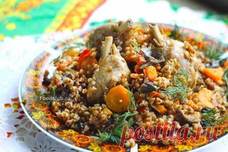 Гречка по-богатому — рецепт с пошаговыми фотографиями на Foodclub.ru