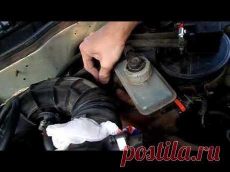 Подсос воздуха в двигателе ВАЗ: как сделать дымогенератор своими руками