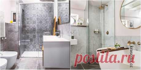 20 стильных идей дизайна ванной комнаты Организовать удобное и комфортное пространство в вашей ванной комнате довольно трудно, ведь необходимо упорядочить огромное количество предметов.