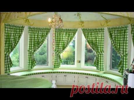 Как красиво и со вкусом «приодеть» окна в частном доме