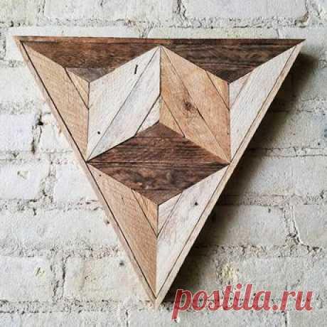 Оптические иллюзии из дерева (подборка) https://secondstreet.ru/blog/dekor_sten/opticheskie-il..  Автора не знаю, но они интересные:  Читать дальше