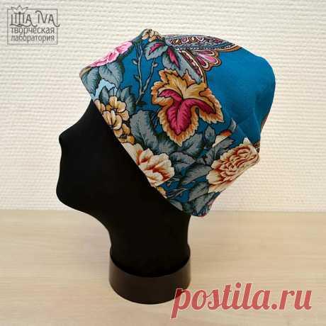 Русский стиль — шьем шапку и палантин – Ярмарка Мастеров