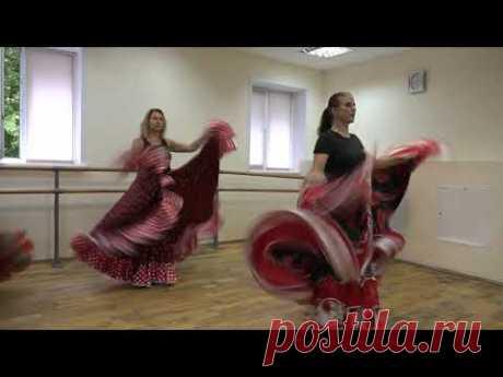 """""""Мир танца"""" мастер-класс по цыганскому танцу"""