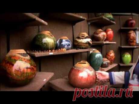 From the Vine - John Hernandez Gourd Artist - Gallery Television Series