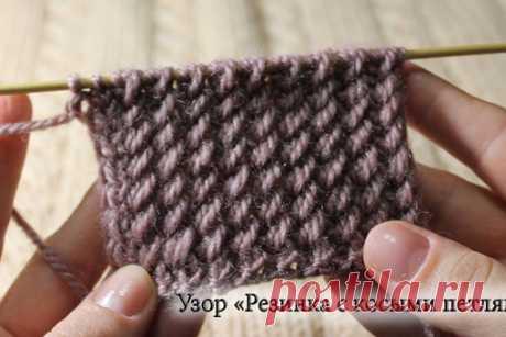 Видео-уроки (резинки)  #резинка_спицами@knit_best, #французская_резинка@knit_best  Пышная резинка Показать полностью…