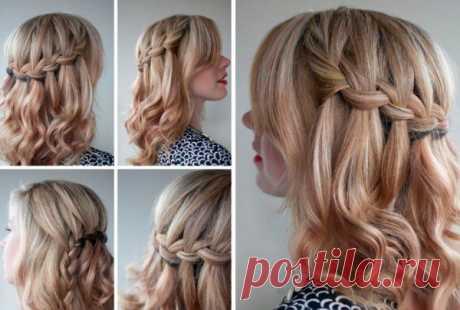 12 идей красивых причесок для волос средней длины   fairy hairstyle   Яндекс Дзен