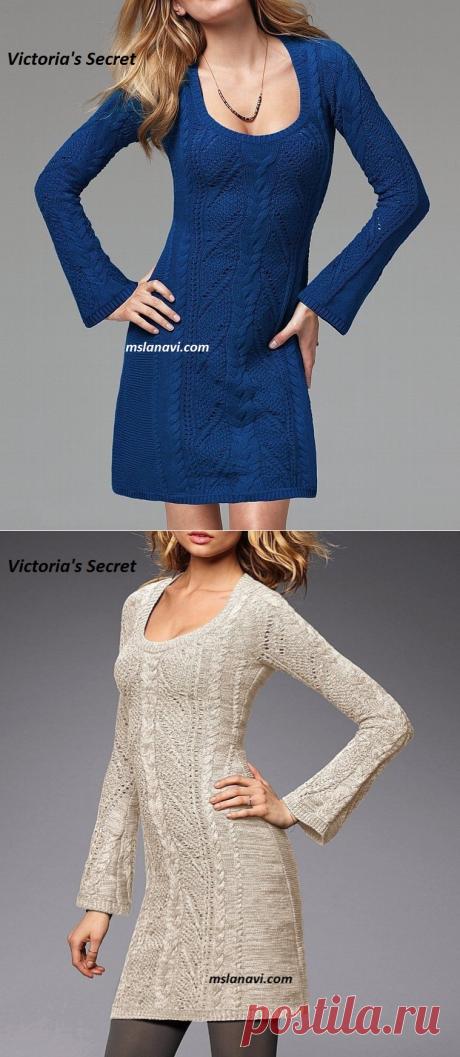 Платье от Victoria's Secret   Вяжем с Лана Ви