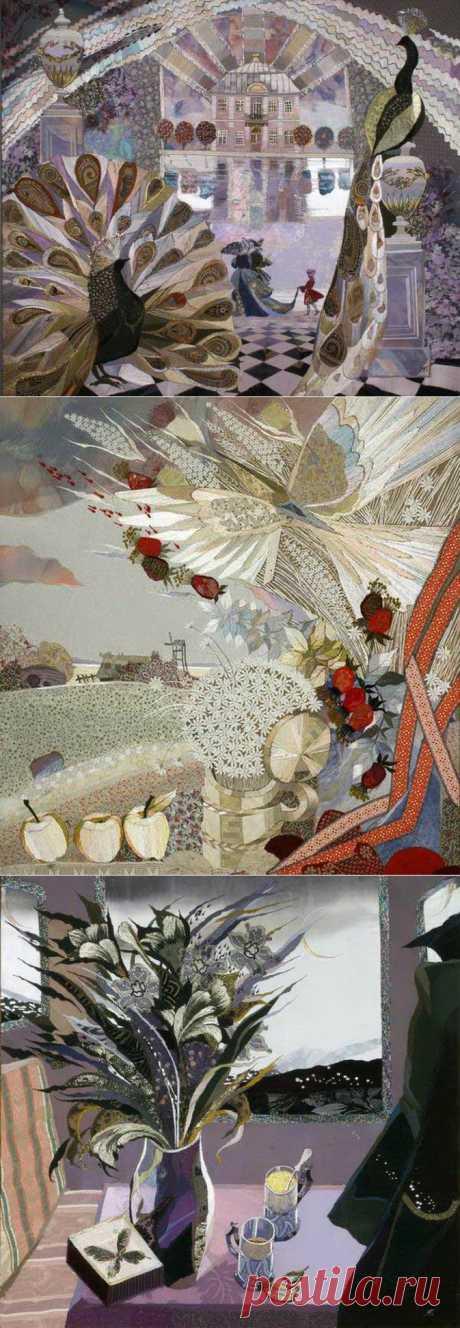 Акварельное шитье Марины Принцевой | Искусство