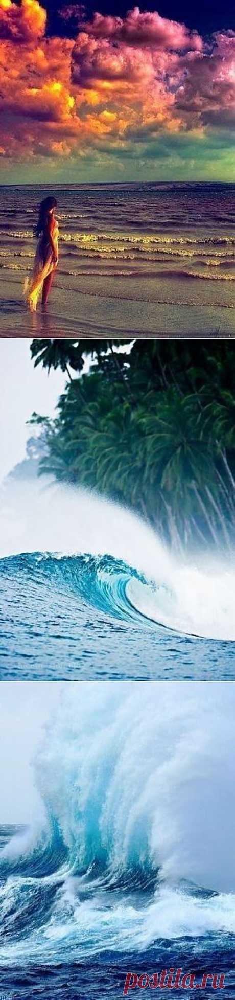 И снова немного о волшебстве моря и волн