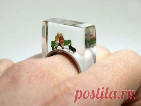 Маленькие истории из жизни внутри кольца: