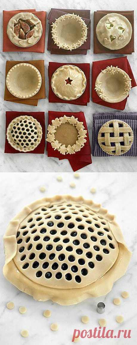 Идеи для оформления пирога